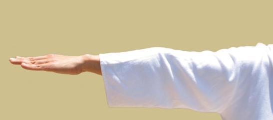 brazo extendido