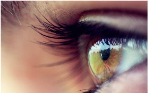 ojos sin tensión